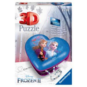 3D pusle ehetekarp Frozen 2 1/2