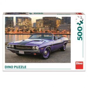 Dino pusle 500 tk. Auto Dodge 1/2