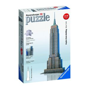 Ravensburger 3D pusle 216 tk Empire State Building 1/2