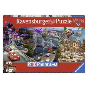 Ravensburger panoraampusle 200 tk Autod 1/2