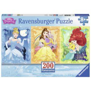 Ravensburger panoraampusle 200 tk Printsessid 1/2