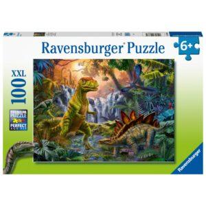 Ravensburger pusle 100 tk Dinosaurus Oasis 1/2