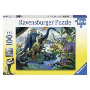 Ravensburger pusle 100 tk Dinosaurused 1/2