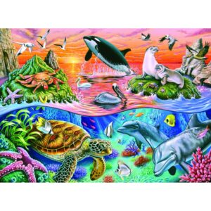 Ravensburger pusle 100 tk Kaunis ookean 1/2