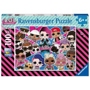 Ravensburger pusle 100 tk LOL 1/2