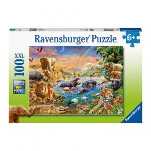 Ravensburger pusle 100 tk. Loomad vee ääres 1/1