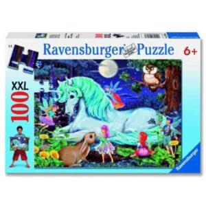 Ravensburger pusle 100 tk Nõiutud mets 1/3