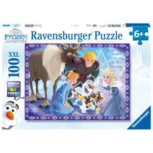 Ravensburger pusle 100 tk. Olafi seiklused 1/1