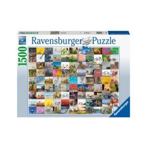 Ravensburger pusle 1500tk. Jalgrattad 1/1