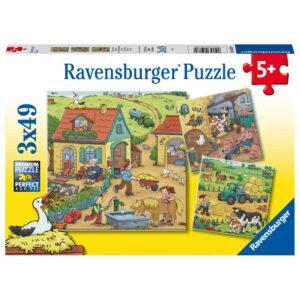 Ravensburger pusle 3x49 Talutööd 1/3