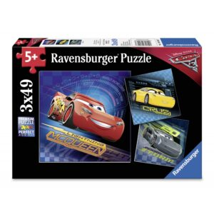 Ravensburger pusle 3x49 tk Autod 3 1/4
