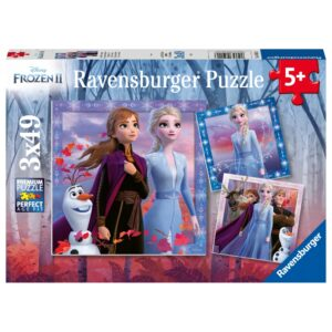 Ravensburger pusle 3x49 tk Frozen 1/4