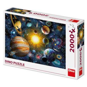 Dino pusle 2000 tk Planeedid 1/2
