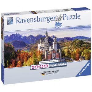 Ravensburger panoraampusle 1000 tk Neushcwansteini loss 1/2