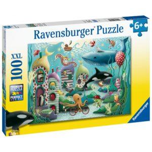 Ravensburger pusle 100 tk Veealused imed 1/2
