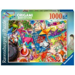 Ravensburger pusle 1000 tk Origaami meditatsioon 1/2