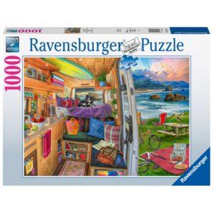 Ravensburger pusle 1000 tk Reisivaated 1/2