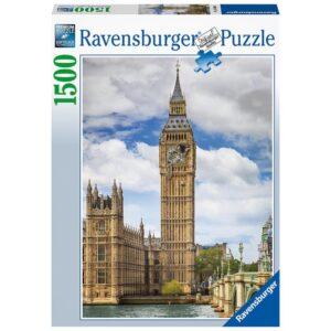 Ravensburger pusle 1500 tk Kass Big Ben´i tornis 1/2