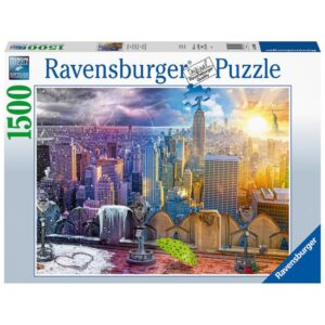 Ravensburger pusle 1500 tk New York 1/2