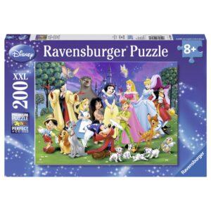 Ravensburger pusle 200 tk Disney lemmiktegelased 1/2
