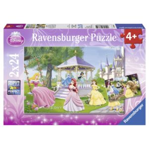Ravensburger pusle 2x24 tk Disney Printsess 1/3