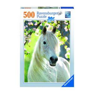 Ravensburger pusle 500 tk Valge hobune 1/1