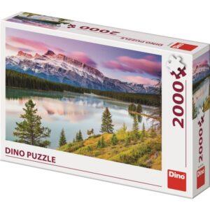 Dino pusle 2000 tk. Kivised mäed 1/2
