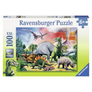 Ravensburger pusle 100 tk Dinosaurus 1/3