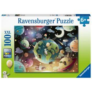 Ravensburger pusle 100 tk Planeedid 1/2