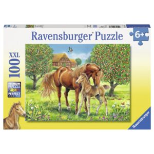Ravensburger pusle 100 XXL tk Hobused 1/2