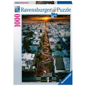 Ravensburger pusle 1000 tk San Francisco 1/2
