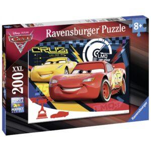 Ravensburger pusle 200 XXL tk Autod 3 1/2