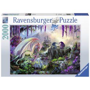 Ravensburger pusle 2000 tk Draakonite org 1/2