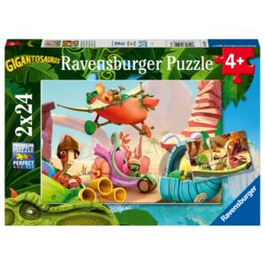 Ravensburger pusle 2x24 Gigantosaurus 1/3