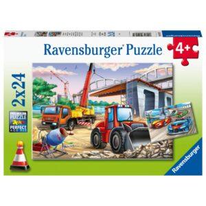 Ravensburger pusle 2x24 hooned ja sõidukid 1/3