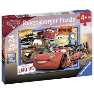 Ravensburger pusle 2x24 tk Autod 3 1/1