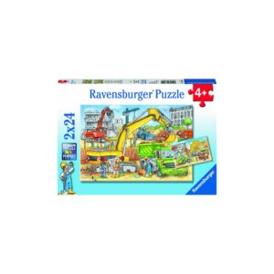 Ravensburger pusle 2x24 tk Ehitus 1/3