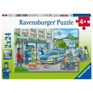Ravensburger pusle 2x24 tk Politsei tegutseb 1/3