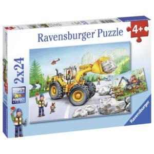 Ravensburger pusle 2x24 tk Traktorid 1/3