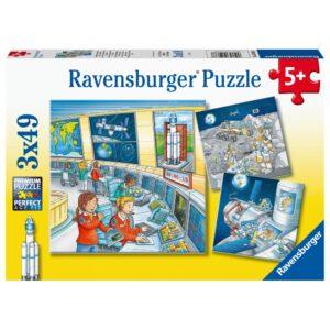 Ravensburger pusle 3x49 Astronaudid 1/4