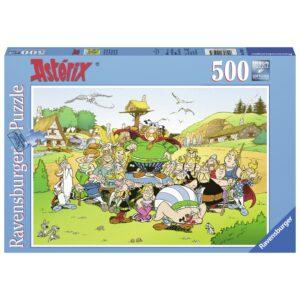 Ravensburger pusle 500 tk Asterix külas 1/2