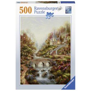 Ravensburger pusle 500 tk Kuldne tund 1/2