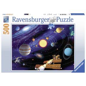 Ravensburger pusle 500 tk Päikesesüsteem 1/2