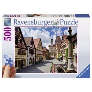 Ravensburger pusle 500 XXL tk Rothenburg 1/2