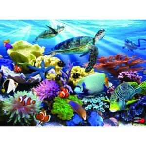 Ravensburger XXL pusle 200 tk Ookeani kilpkonnad 1/2