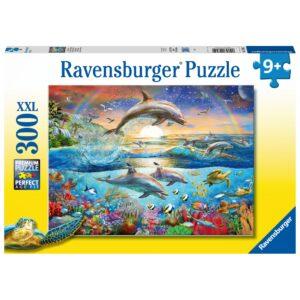 Ravensburger XXL pusle 300 tk. Delfiinide paradiis 1/2