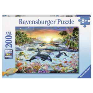 Ravensburger XXL pusle 200 tk Delfiinid 1/2
