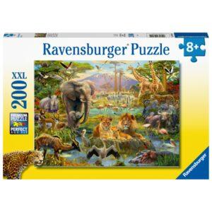 Ravensburger XXL Puzzle 200 Savanniloomad 1/2