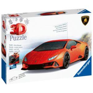 Ravensburger 3D 140 tk pusle Lamborghini Huracan EVO 1/4