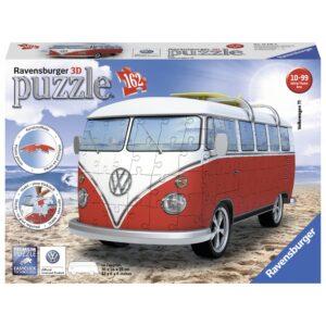 Ravensburger 3D pusle 162 tk Volkswagen buss 1/2